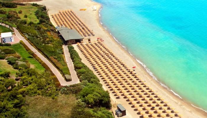 Serenusa Village vista spiaggia