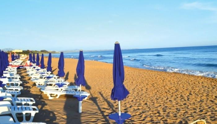 Club Esse Selinunte Beach spiaggia attrezzata