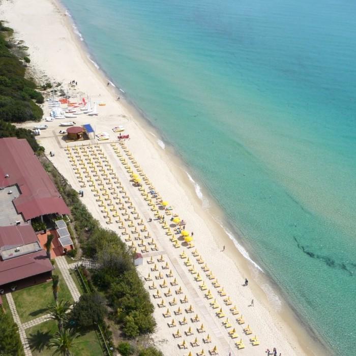 Villaggio Free Beach Club vista