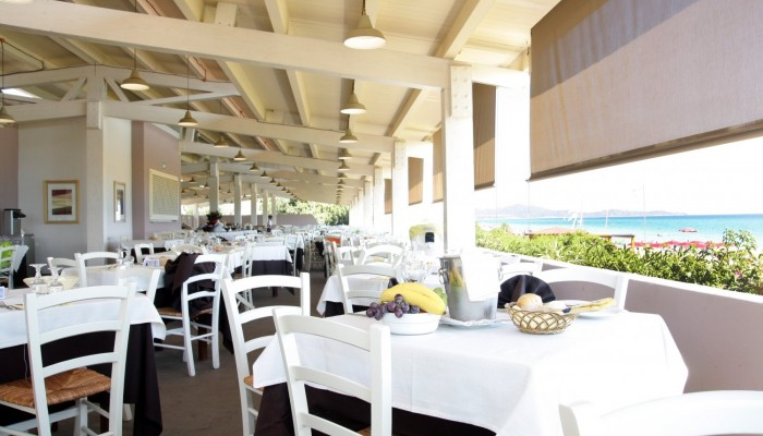 Free Beach Club ristorante all'aperto Moby Dick
