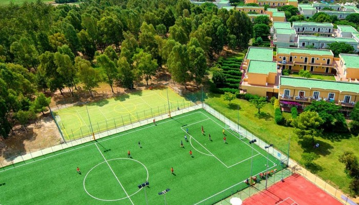 Bluserena Serenè Village campi sportivi