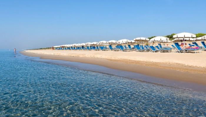 Gran Valentino Village spiaggia