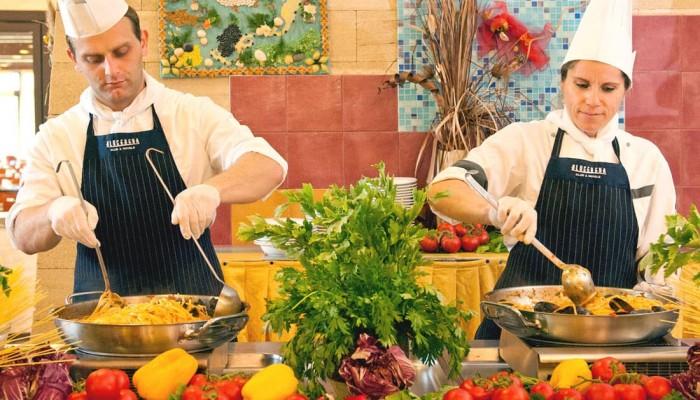 Torreserena Village cucina