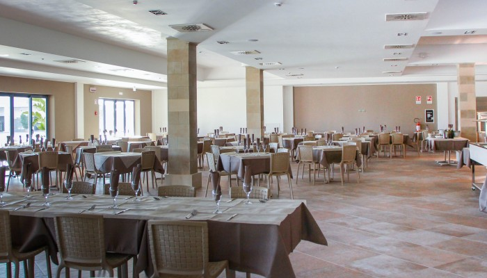 Futura Club Danaide resort sala ristorante
