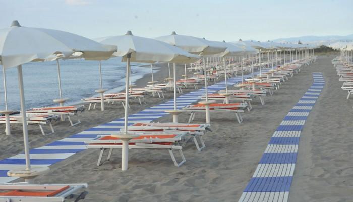 Hotel Club Portogreco spiaggia