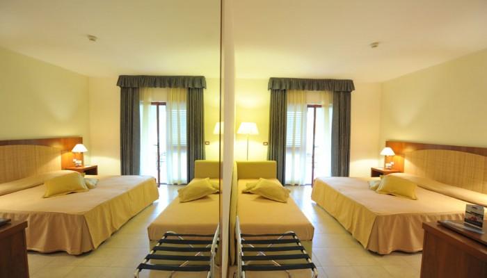 Hotel Portogreco camere family