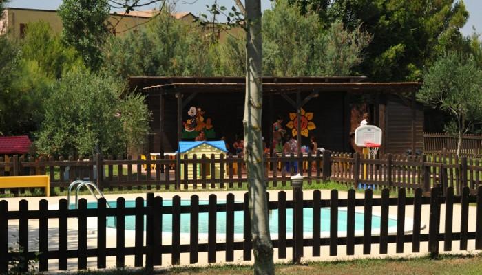 Villaggio Torre del Faro piscina piccoli