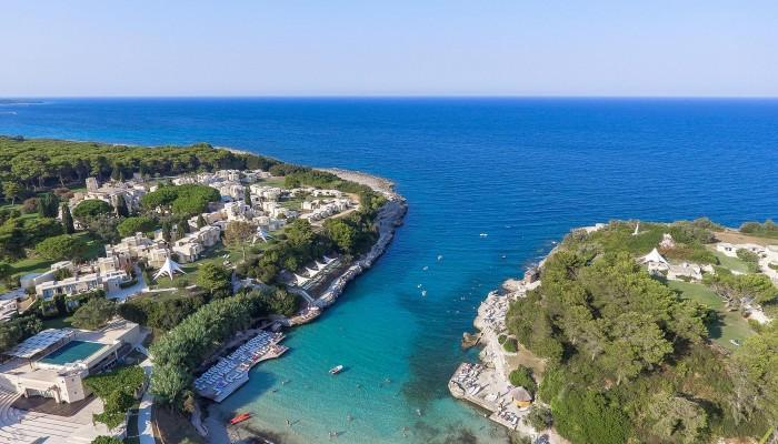 Futura style Cale d'Otranto vista villaggio