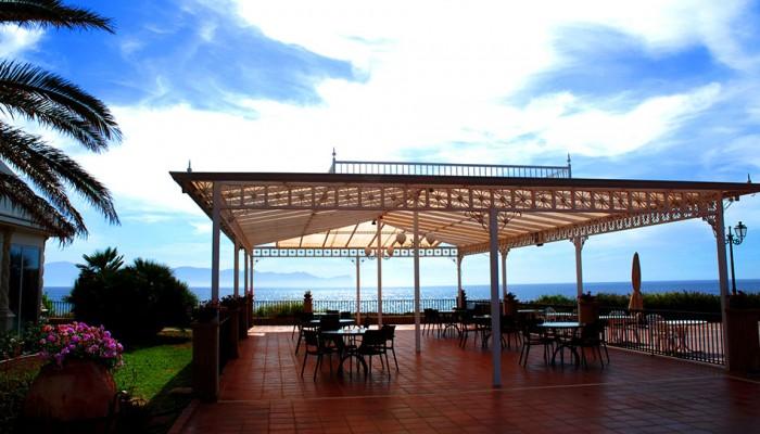 Florio Park hotel vista mare