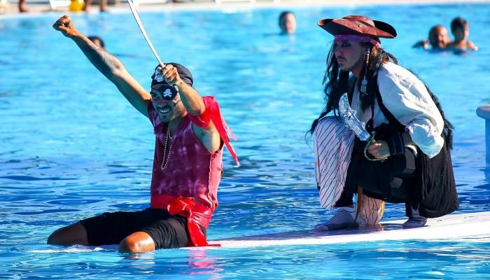 Club Hotel Marina Beach animazione piscina
