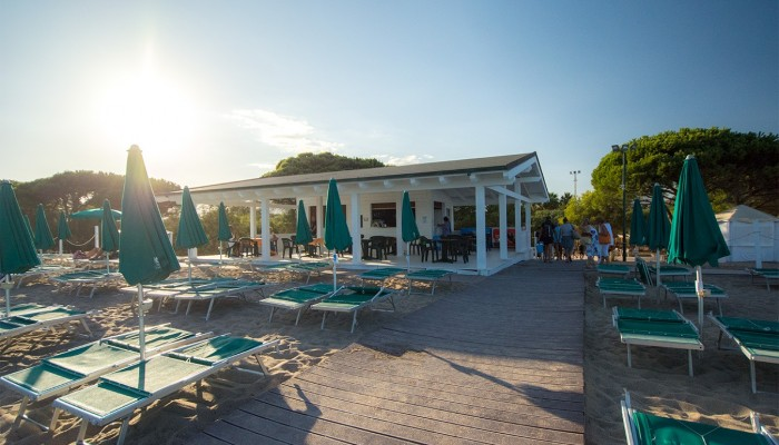Club Hotel Marina Beach bar spiaggia