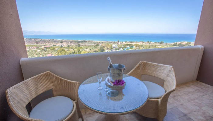 Hotel club Costa Verde vista mare