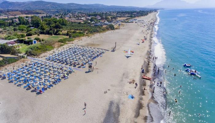 Hotel club Costa Verde spiaggia