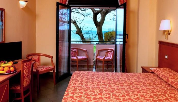 Florio Park hotel camera vista mare