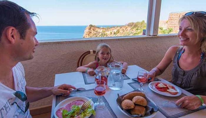 Pollina Resort cucina