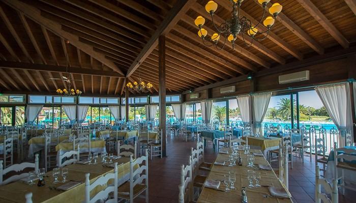 Club Hotel Marina Beach ristorante pagoda