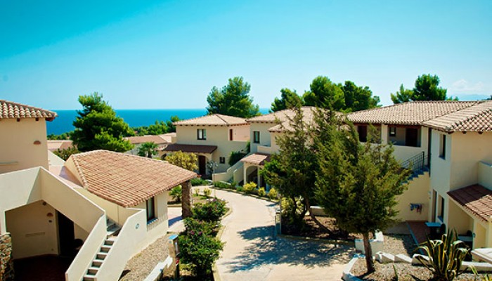 Club Esse Cala Gonone Beach Village vista camere