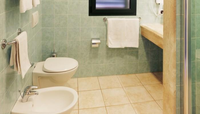 Club Hotel Baia Aranzos camere bagno