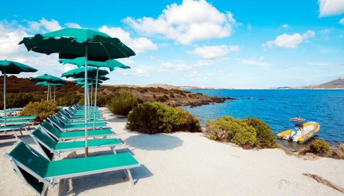 Club Hotel Baia Aranzos spiaggia