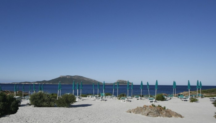 Club Hotel Baia Aranzos vista spiaggia