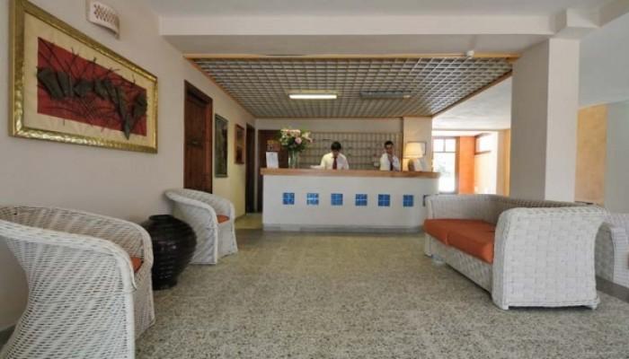 Hotel Eurovillage reception