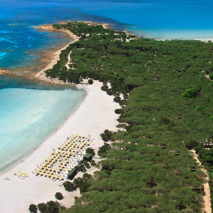 I Giardini di Cala Ginepro vista spiaggia