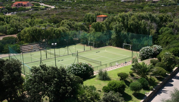 Club Esse Roccaruja campi sportivi