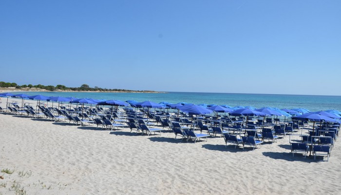 Cala Ginepro spiaggia