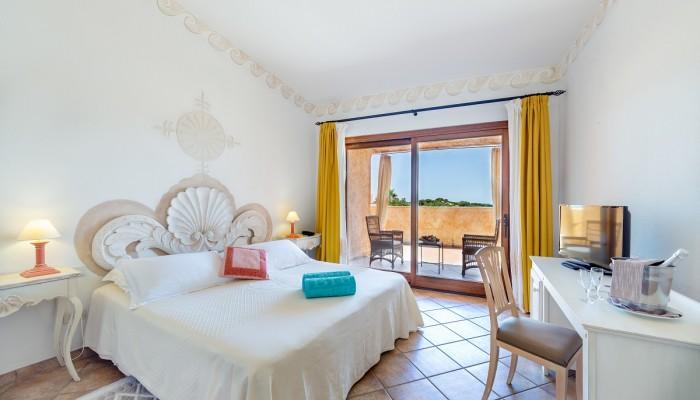 Sant'Elmo beach hotel camera deluxe vista mare