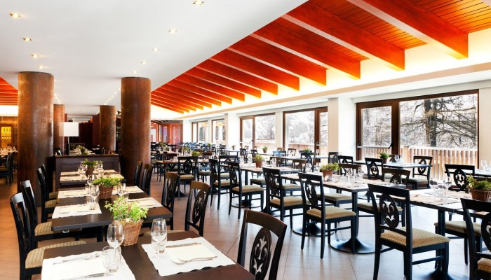 Hotel Sansicario Majestic ristorante