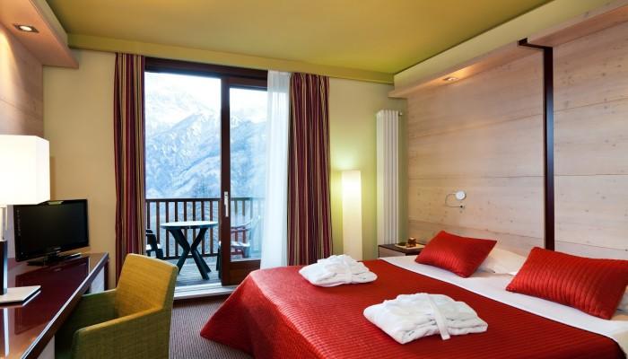 Hotel Sansicario Majestic camere