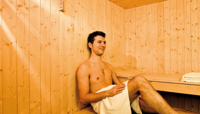 Hotel Sansicario Majestic sauna