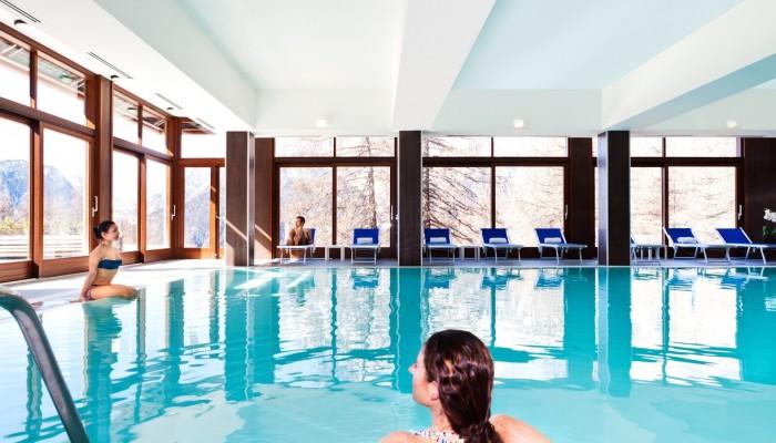 Hotel Sansicario Majestic piscina riscaldata