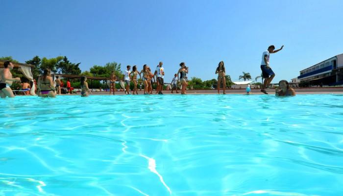 Santa Sabina piscina