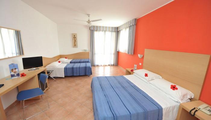 Hotel Club Santa Sabina camere