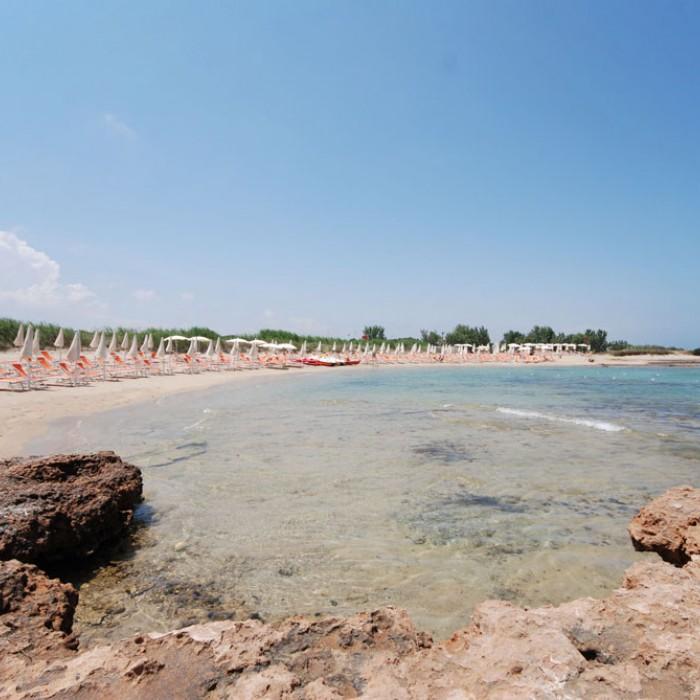 Hotel Club Santa Sabina spiaggia