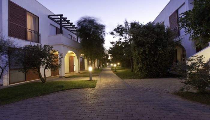 Blu Salento Village esterni sera