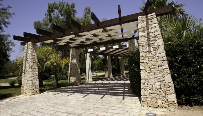 Blu Salento Village giardino