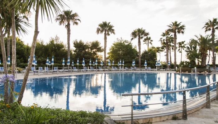 Blu Salento Village vista piscina