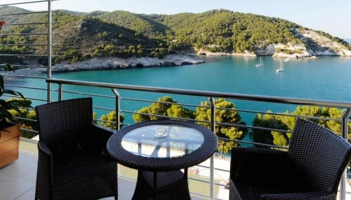 Pugnochiuso resort Hotel del Faro vista