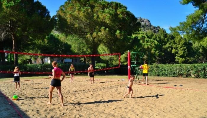Pugnochiuso resort beach volley