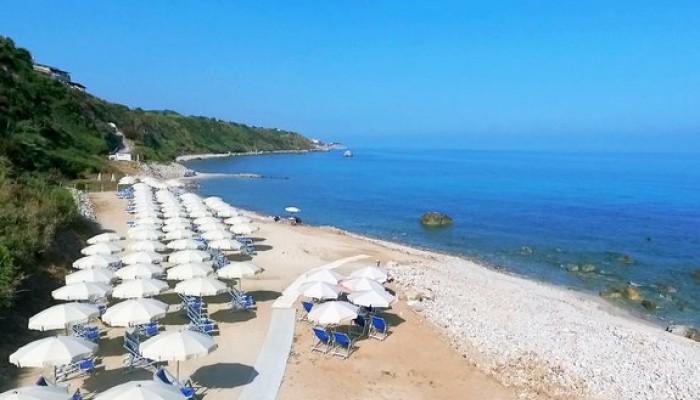 Le Rosette resort spiaggia Parghelia Tropea