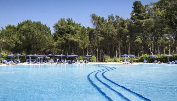 Ti Blu Village vista piscina