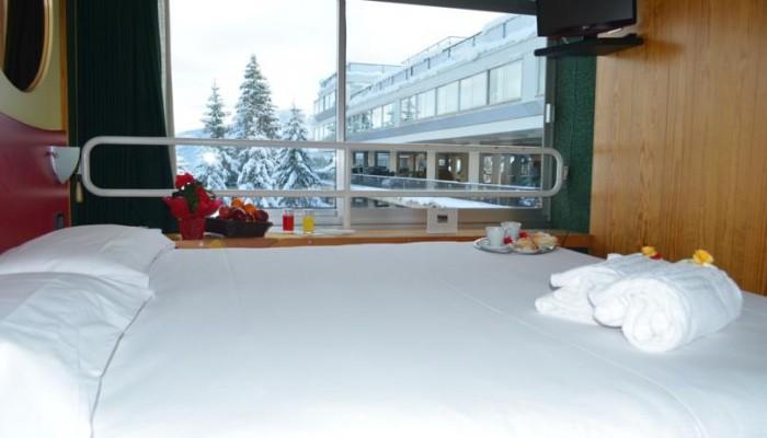 Hotel Solaria con vista esterna