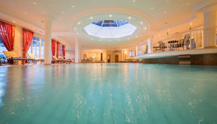 TH Corvara Greif Hotel piscina