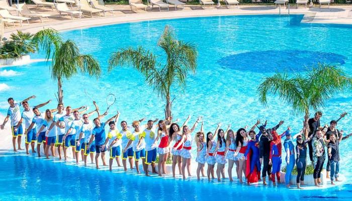 Calanè Village piscina animazione