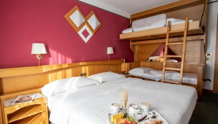 Hotel Sant Anton camera quadrupla