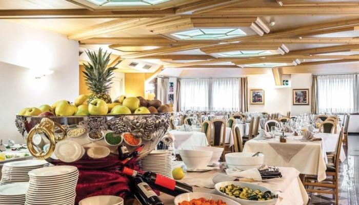 Hotel Sant Anton Bormio sala ristornate