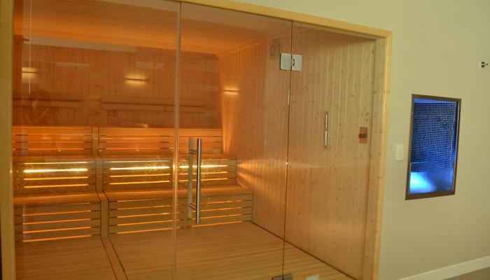 Borgo di Fiuzzi Resort & Spa sala sauna