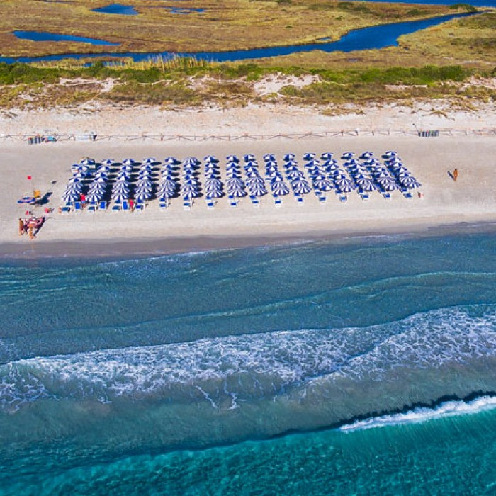 Uappala Hotel Le Rose spiaggia de la Cinta